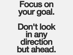 Relaxed Hair Health: Monday Motivation | Focus. Focus. Focus.