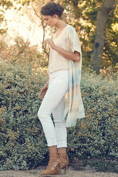 AG Stevie Ankle Cuffed Jeans - anthropologie.com #anthrofave