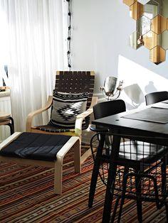 Artek chair, navajo pattern. White Trash Disease - Blogi   Lily.fi