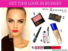 GET THE LOOK IN BUDGET- RIMMEL SERIES