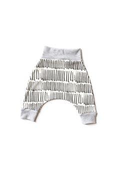 black and white harem pants unisex harem pants by babysproutsco