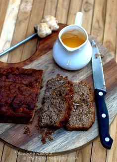 healthfood desivideshi: ginger honey cake with ragi flour Breakfast Cake, Breakfast Dishes, Breakfast Recipes, Ragi Recipes, Cooking Recipes, Cooking Tips, Delicious Desserts, Yummy Food, Honey Cake