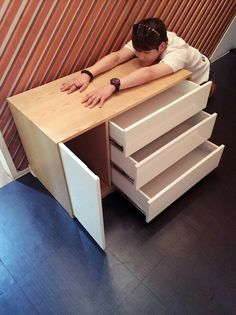 """[Twitter] 160713 UP10TION Kuhn - """" Finally the 3 levels drawers that i've been waiting from Gayo Plaza has arrived and i'll clean my messy room! """"  Eng. Trans cr:@GyuGenie"""