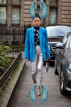 The Best Street Style Looks From London Fashion Week Fall 2020 The Best Street Style Looks From London Fashion Week Fall 2020 - Fashionista<br> Plus, browse all of our images from the week in one place. Cool Street Fashion, Us Images, Street Style Looks, London Fashion, Fall, Autumn
