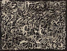 Pierre Alechinsky. The Night. 1952 •●