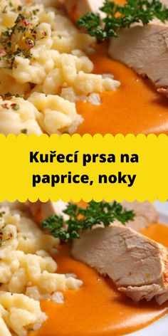 Slovak Recipes, Mashed Potatoes, Curry, Food And Drink, Cooking, Ethnic Recipes, Red Peppers, Essen, Whipped Potatoes