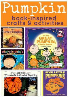 pumpkin book inspired crafts and activities
