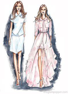 Tendenze moda primavera-estate 2016: rose quartz, serenity | Giovanna Sitran, The Glam Pepper
