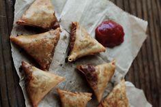 Lentil Samosa Recipe - Vegetarian Indian Food