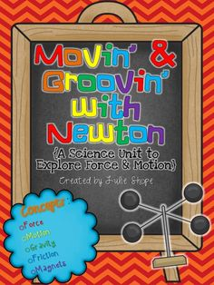 Spice up your force and motion unit with these fun activities!