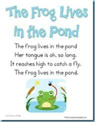Pond Theme Printables and More! - 1+1+1=1