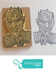 Night King hand carved stamp game of thrones