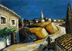 Auguste Chabaud (1882-1955) Meules près de la maison, circa 1912