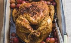 Tipsy Chicken with Grapes recipe – All 4 Women Fresh Chicken, Roast Chicken, Healthy Family Meals, Healthy Snacks, Grape Recipes, Sweet Wine, South African Recipes, Serving Platters, Recipe Of The Day