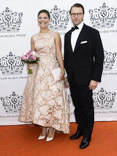 Princess Madeleine sparkles as Swedish royal family attend Stockholm's prestigious music awards ceremony - Photo 3 | Celebrity news in hellomagazine.com