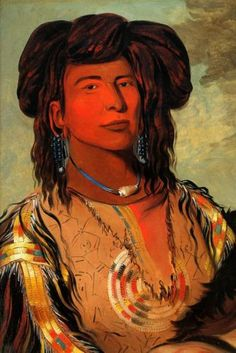 Western Sioux LAKOTA Chief Miniconjou Tribe American Indian George Catlin Repro | eBay