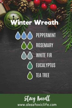 Winter Diffuser Blends Young living, Doterra, or your favorite oil mixes great in these DIY homemade diffuser blends for winter and christmas. Make your home smell clean and calming. Happy blends for all your essential oils. Essential Oil Diffuser Blends, Essential Oil Uses, Doterra Essential Oils, Young Living Essential Oils, Homemade Essential Oils, Homemade Diffuser, Diffuser Recipes, Essential Oils Christmas, Eucalyptus Tea