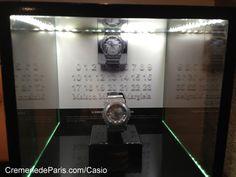 Casio vend ses montres à la Cremerie de Paris.
