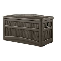 Awesome Suncast 50 Gallon Storage Box With Seat   Outdoor $112.49 | Boston  Apartment | Pinterest