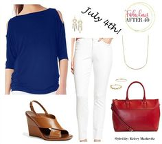 What to Wear On The Fourth of July - A Red White And Blue Celebration