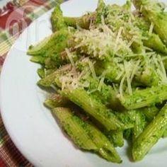 Rezeptbild: Spaghetti mit Walnuss-Rucola-Pesto
