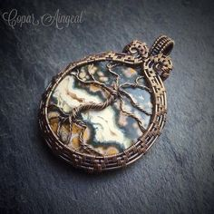 TUTORIAL Yggdrasil Pendant Wire Wrapping by CoparAingealTutorial
