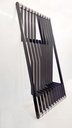 Light Well, Parametric Design, Black Acrylics, Dark Backgrounds, Ribs, Shelving, Neutral, Objects, The Unit