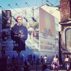 Great shot of our work for #OnitsukaTiger, taken in Milano #Fashion #Shoes #Milan #Japan