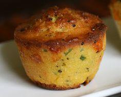 Married to a Desi: Jalapeno Cheddar Broccoli Corn Bread