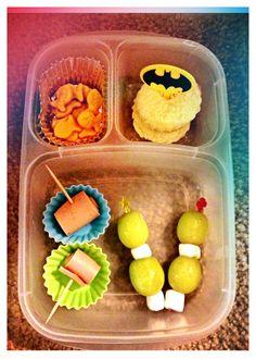 Meriendas creativas para la escuela. #kids #kidsfood #lunchboxes #bento