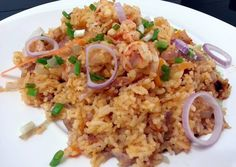 Spicy Shrimp Rice / Sambal Nasi Udang Recipe -  How are you today? How about making Spicy Shrimp Rice / Sambal Nasi Udang?