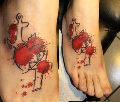 Die 19 Besten Bilder Von Glaube Liebe Hoffnung Anker Tattoo