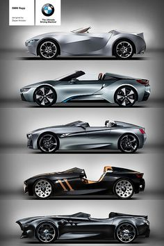 BMW Rapp Anniversary Concept. GINA, i8, Vision ConnectedDrive, 328 Hommage, Rapp Concept  011615