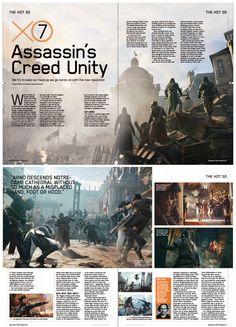 magazine game layout Magazine Page Design, Magazine Page Layouts, Gaming Magazines, Video Game Magazines, Newspaper Layout, Newspaper Design, Editorial Layout, Editorial Design, Gallery Magazine