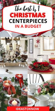 Christmas Table Centerpieces, Christmas Decorations To Make, Christmas Projects, Christmas Arrangements, Centerpiece Ideas, Flower Arrangements, Table Decorations, Holiday Tree, Holiday Crafts