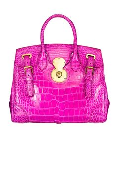 Hot pink, Alligator, Ralph Lauren...what more can a girl ask for?