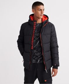 Shop a great selection of Superdry Men's Sports Puffer Jacket. Find new offer and Similar products for Superdry Men's Sports Puffer Jacket. Superdry Jackets, Superdry Mens, Puffer Jackets, Winter Jackets, Camo Hunting Jacket, Guayabera Shirt, Heated Jacket, Tom Tailor Denim, Models