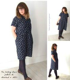 My own sewing: Factory Dress Pattern de Merchant & Mills Mi propia costura…