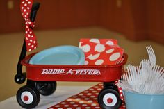 Amber: Little Red Wagon Party