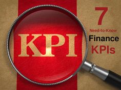 7 Financial KPIs Everyone Needs To Know by Bernard Marr via slideshare
