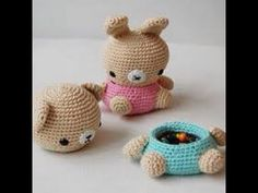 #كروشيه علبه على شكل دب / crochet# Box in the form of dolls - YouTube