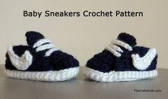 Baby Sneakers Crochet Pattern - gratis patroon!