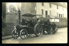 Steam Tractor, Old Trucks, Rollers, Locomotive, Tractors, 1920s, Antique Cars, Engine, Old Things