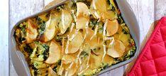 Deze spinaziestamppot uit de oven met spekreepjes, appel en brie is superlekker en makkelijk te maken. Bekijk hier mijn recept. Brie, Spanakopita, Zucchini, Yummy Food, Ovens, Vegetables, Ethnic Recipes, Delicious Food, Veggies