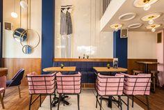 what: «ΑΕΛΙΑ» all day bar where: Drama, Greece who: Ioannis Koukouras (interior architect)