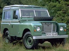 Land Rover Series III 88 (1971 – 1985).