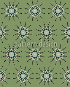 Green Stars created by Laura F Nicholson offered as a vector file on patterndesigns.com Vector Pattern, Vector File, Surface Design, Patterns, Stars, Create, Green, Block Prints, Sterne