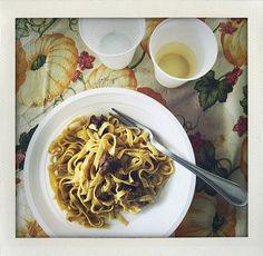 Tanterna i Rom, matresa, Trastevere, I huvudet på Elvaelva Spaghetti, Ethnic Recipes, Rome, Italy, Noodle