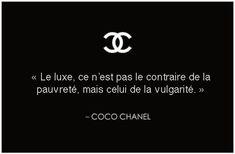 Coco Chanel #Chanel #Citation                                                                                                                                                                                 Plus