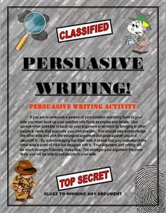 Teach students how to write a good persuasive essay. With this format students will learn to master it. The six page packet contains detailed paragraph by paragraph instructions on how to write a 5 paragraph essay and win your argument. It also has a list of writing prompts that they can choose from.